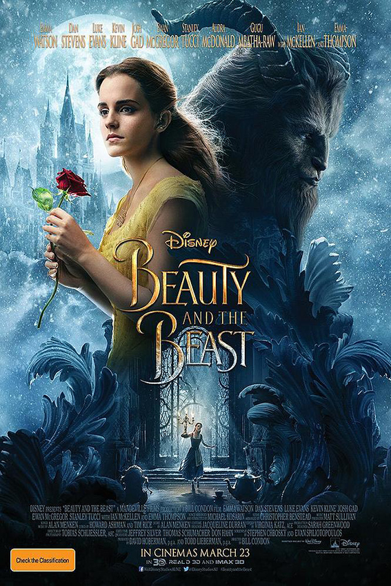 Beauty and the Beast [2017 USA & UK Movie] Family, Fantasy, Musical