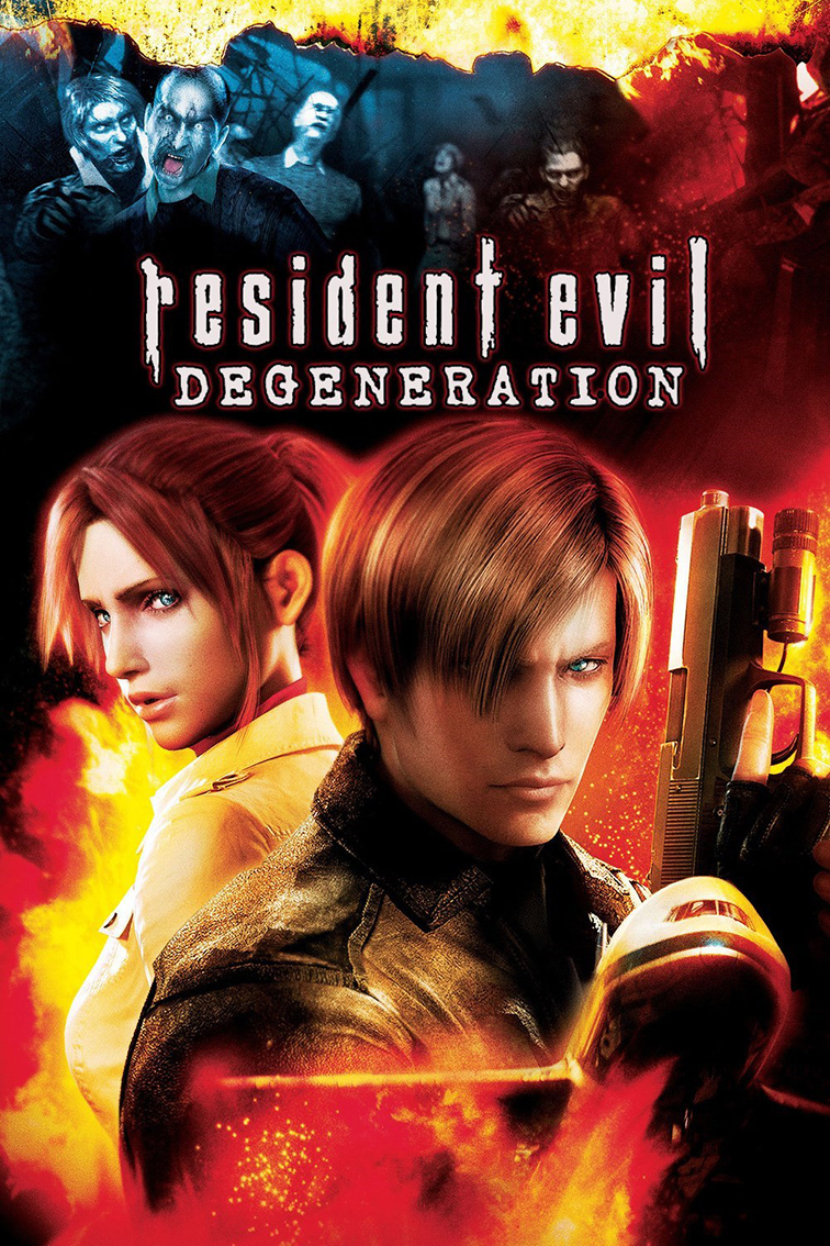 Resident Evil Degeneration [2008 Japan Movie] English, Animation, Action, Horror, Sci Fi