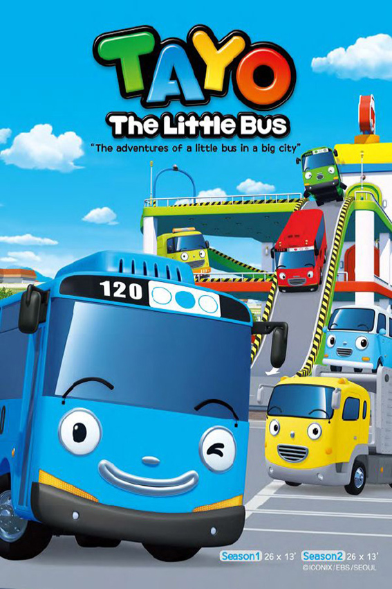 Tayo, The Little Bus SEASON 1 COMPLETE [2010 – Current Korea Series] English, Animation, Family