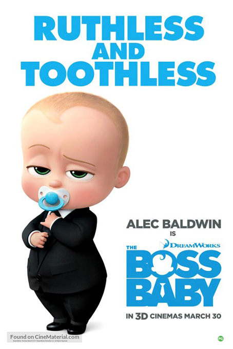 The Boss Baby [2017 USA Movie] Animation, Family, Comedy