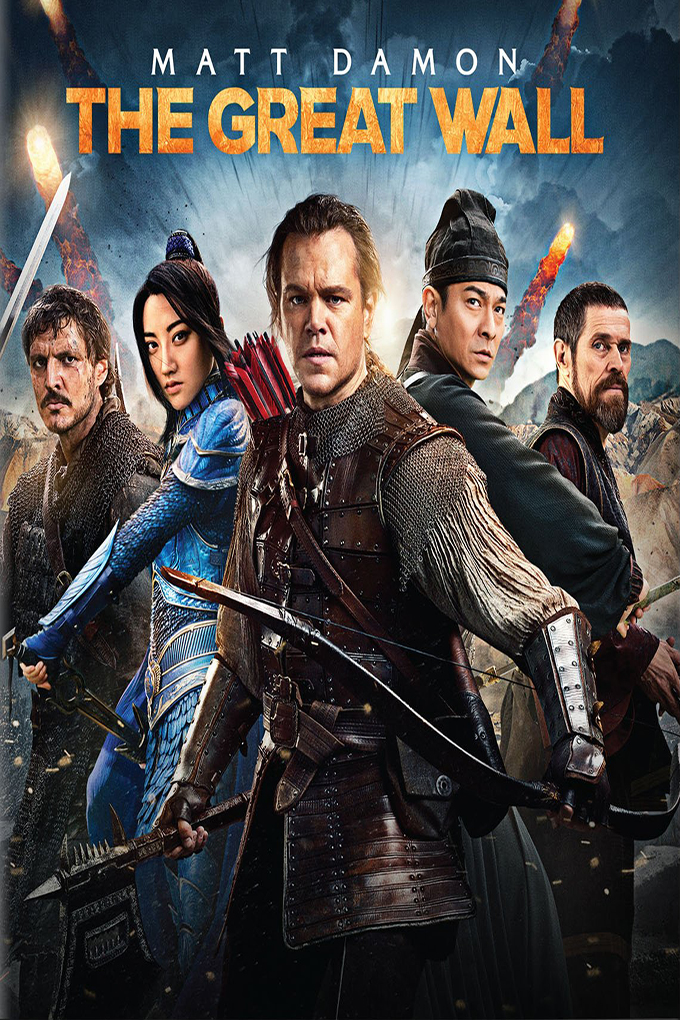 The Great Wall [2017 USA, China, HK, Australia & Canada Movie] Action, Adventure, Fantasy