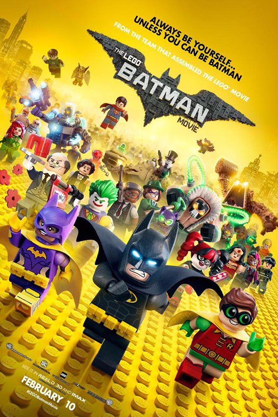 The Lego Batman Movie [2017 USA & Denmark Movie] Animation, Action, Family