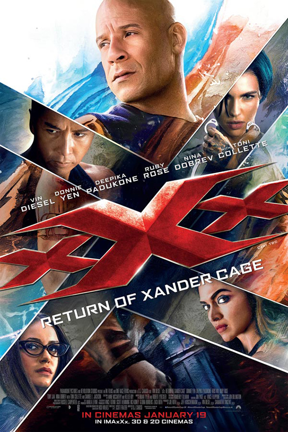 xXx: Return of Xander Carge [2017 USA Movie] Action, Adventure, Thriller