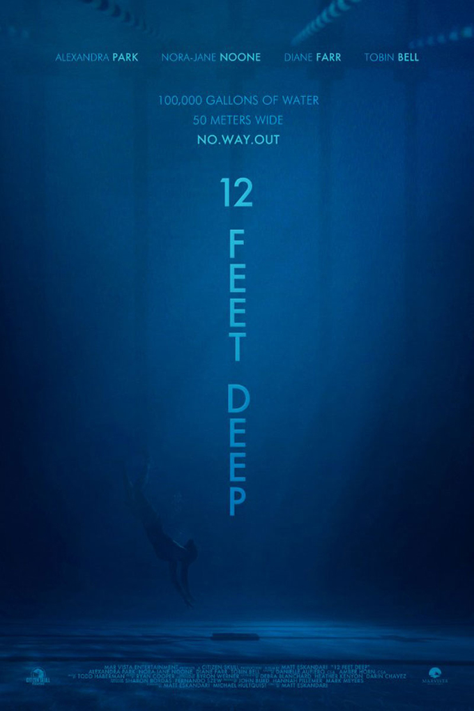 12 Feet Deep [2017 USA Movie] Thriller, True Story