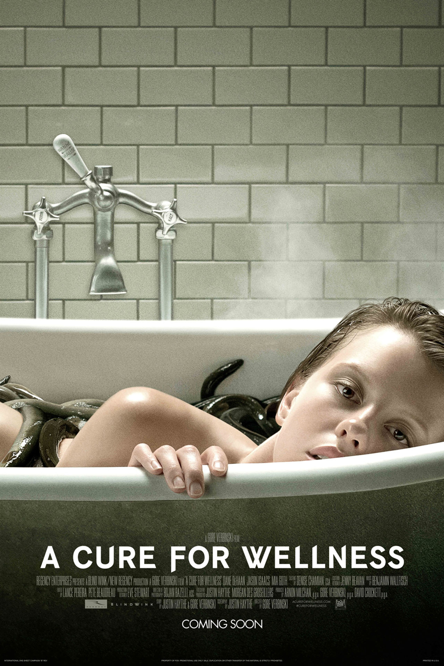 A Cure For Wellness [2017 USA & Germany Movie] Fantasy, Horror, Sci Fi, Thriller