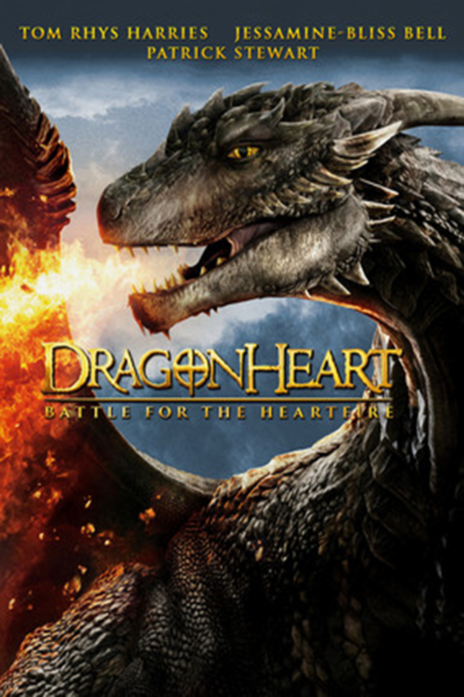 Dragonheart 4: Battle for the Heartfire [2017 USA Movie] Fantasy