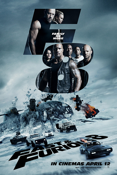 The Fate of the Furious aka Fast Furious 8 [2017 USA Movie] Action, Adventure, Crime, Racing