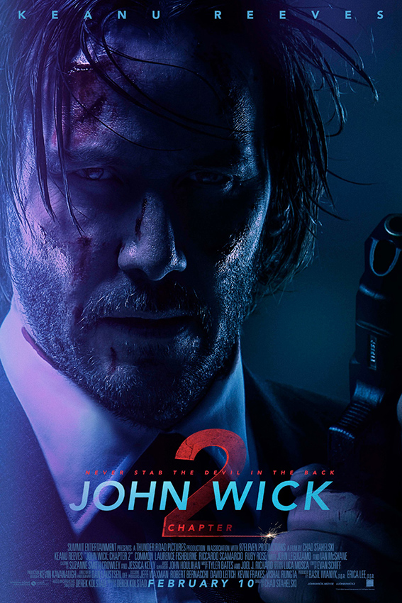 John Wick Chapter 2 [2017 USA, HK, Italy & Canada Movie] Action, Crime, Thriller