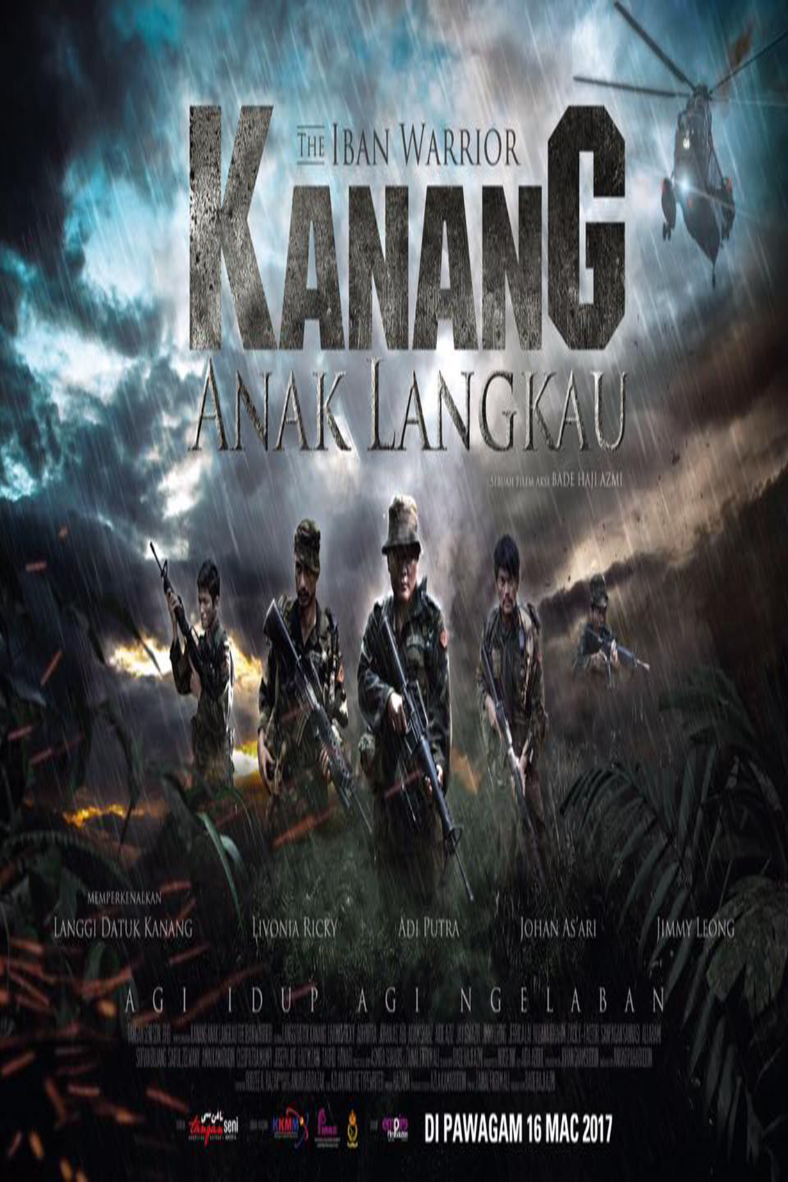Kanang anak Langkau The Iban Warrior [2017 Malaysia Movie] Action, History, True Story