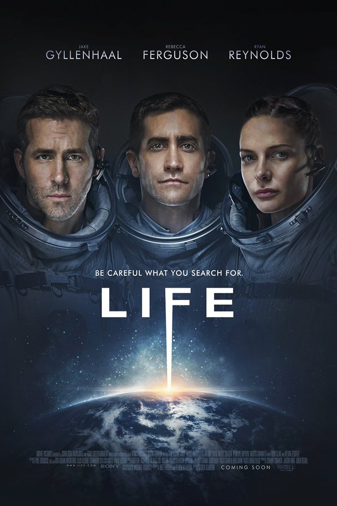 Life [2017 USA Movie] Horror, Sci Fi, Thriller
