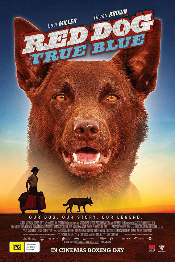 Red Dog True Blue [2016 Australia Movie] Family, Comedy, Drama