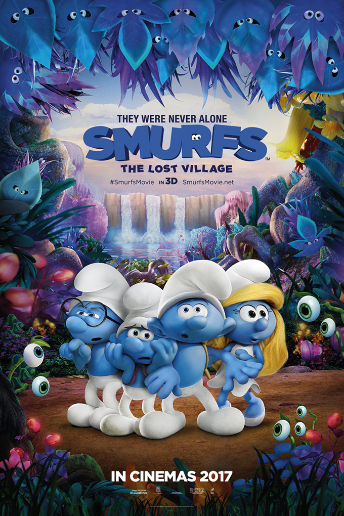 Smurfs The Lost Village [2017 USA & HK Movie] Animation, Family
