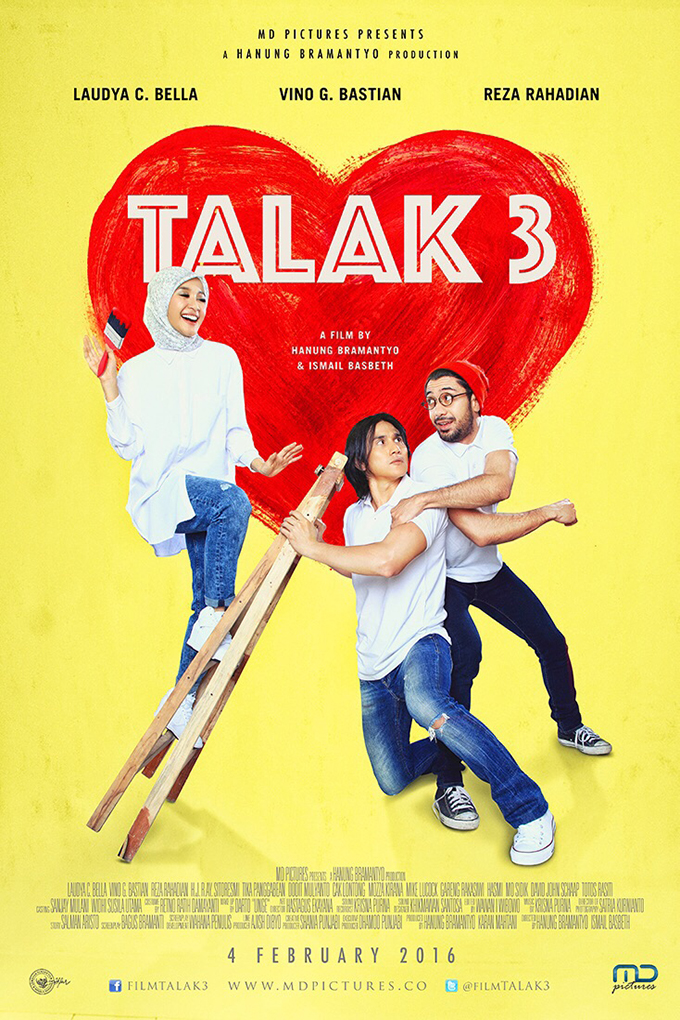 Talak 3 [2016 Indonesia Movie] Comedy, Drama