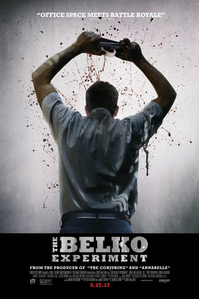 The Belko Experiment [2016 USA & Colombia Movie] Action, Horror, Thriller