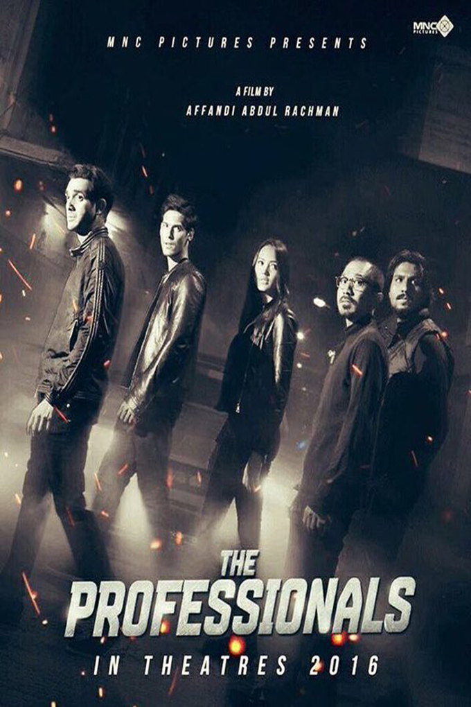 The Professionals [2016 Indonesia Movie] Action