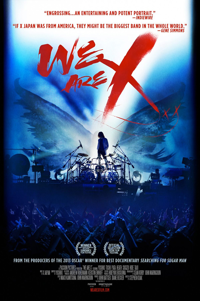 We Are X [2016 Japan Movie]  English Documentary