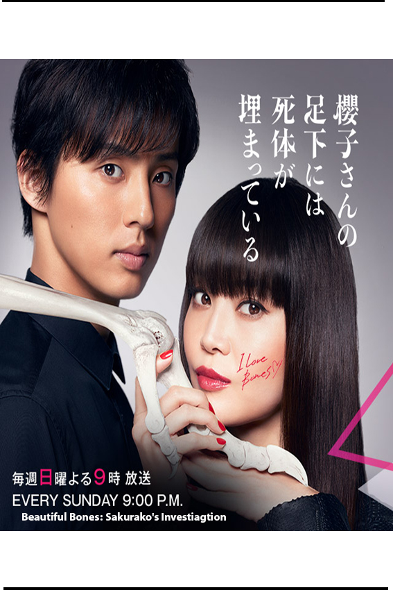 Beautiful Bones: Sakurako's Investiagtion [2017 Japan Series] 10 eps END (2) Drama, Mystery, Detective