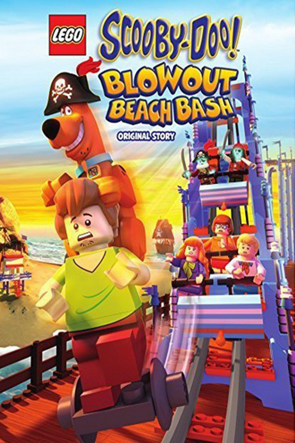 Lego Scooby Doo! Blowout Beach Bash [2017 USA Movie] Animation, Family