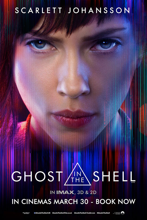 Ghost in the Shell [2017 USA Movie] Action, Crime, Mystery, Sci fi, Thriller
