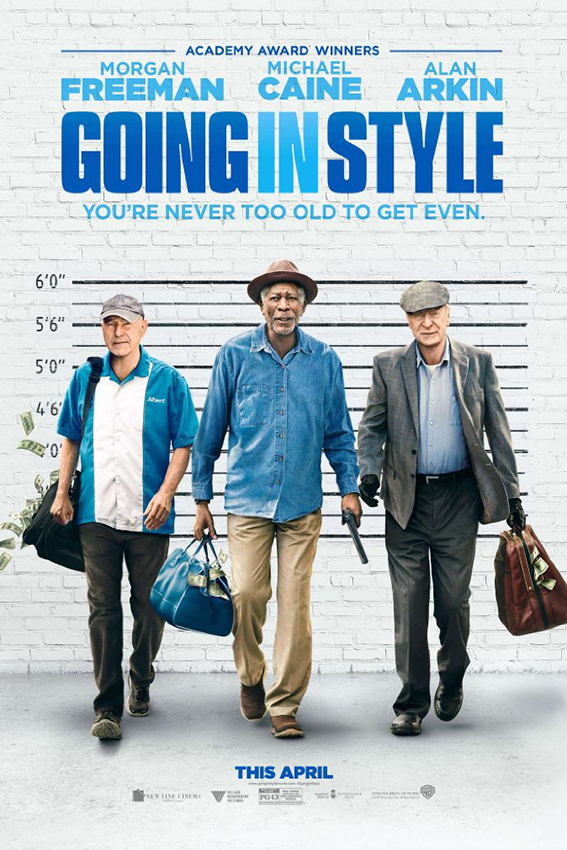 Going in Style [2017 USA Movie] Comedy, Crime