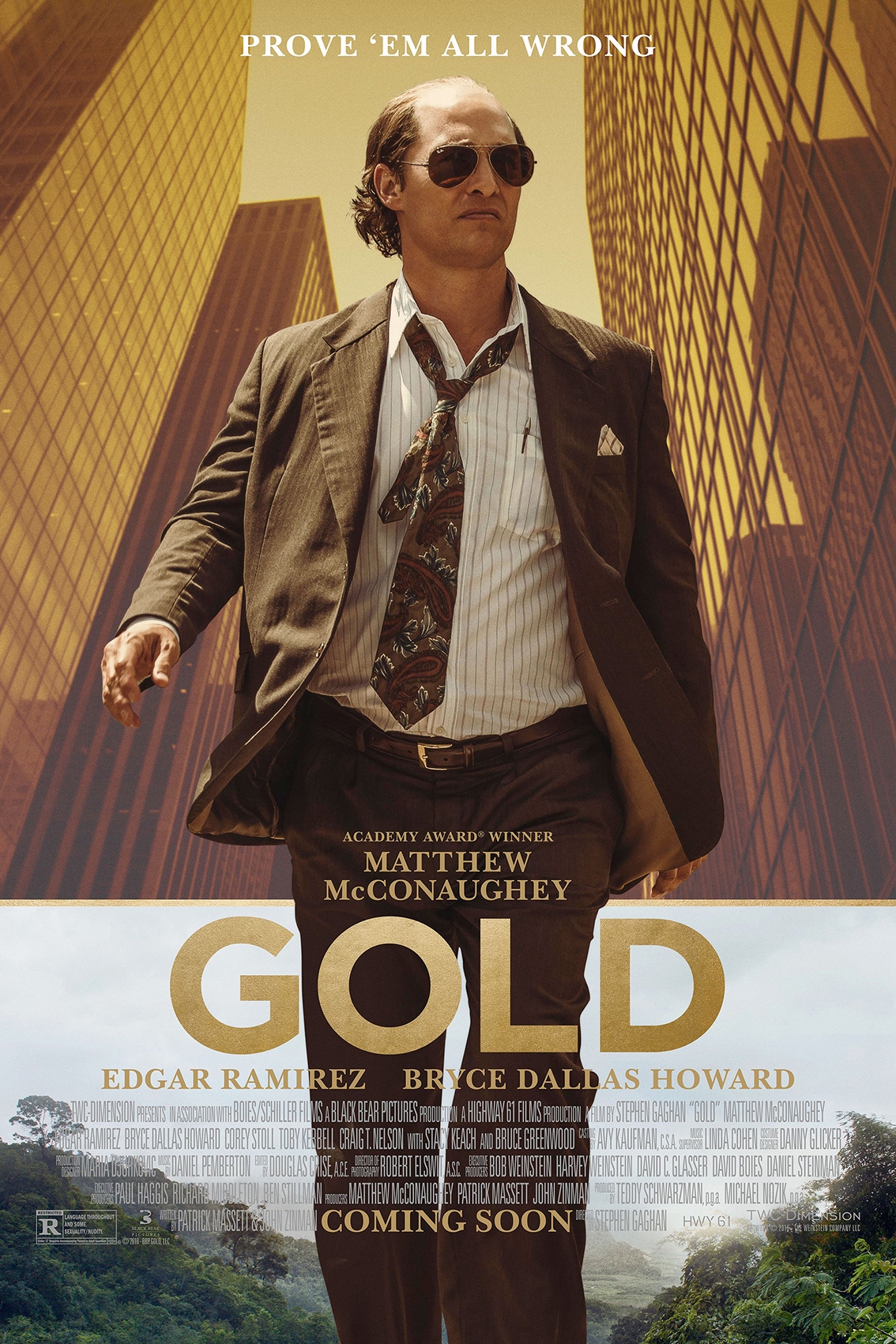 Gold [2016 USA Movie] Adventure, Drama, Thriller
