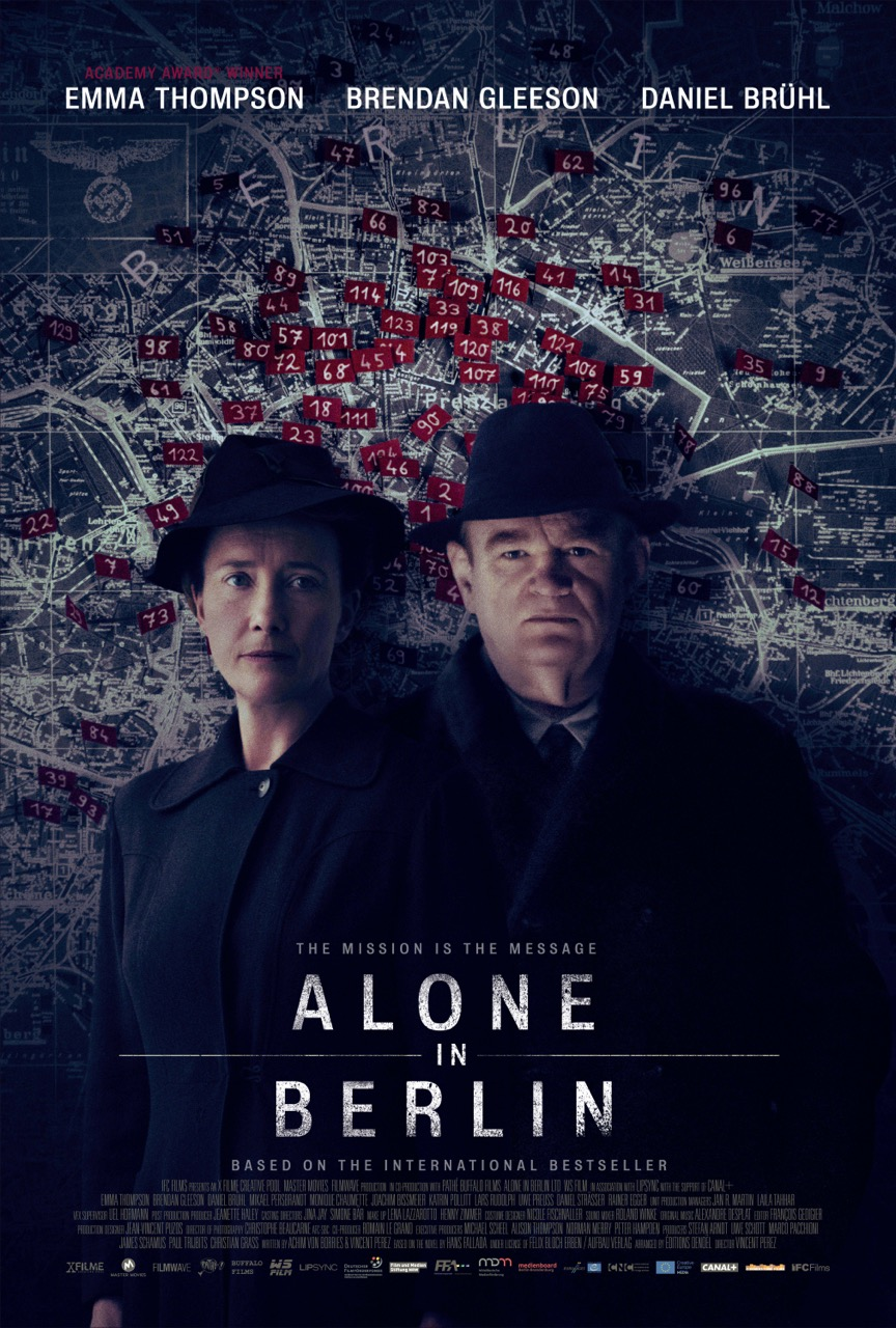 Alone in Berlin [2017 UK, France & Germany Movie] Drama