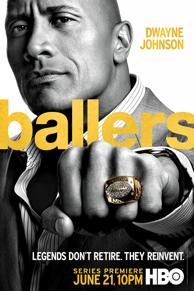 Ballers SEASON 2 Complete [2015 – Current USA Series]  Comedy, Drama, Sport