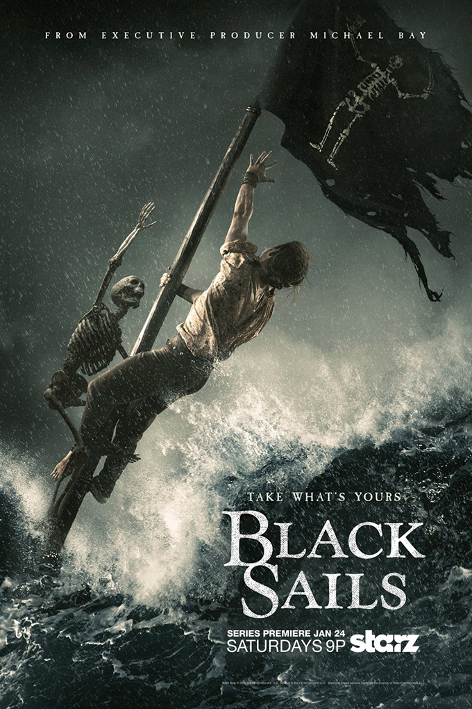 Black Sails SEASON 4 Completed [2014 – Current USA Series] Adventure, Drama
