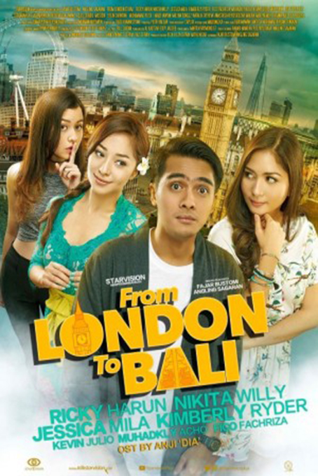 From London to Bali [2017 Indonesia Movie] Romance, Comedy