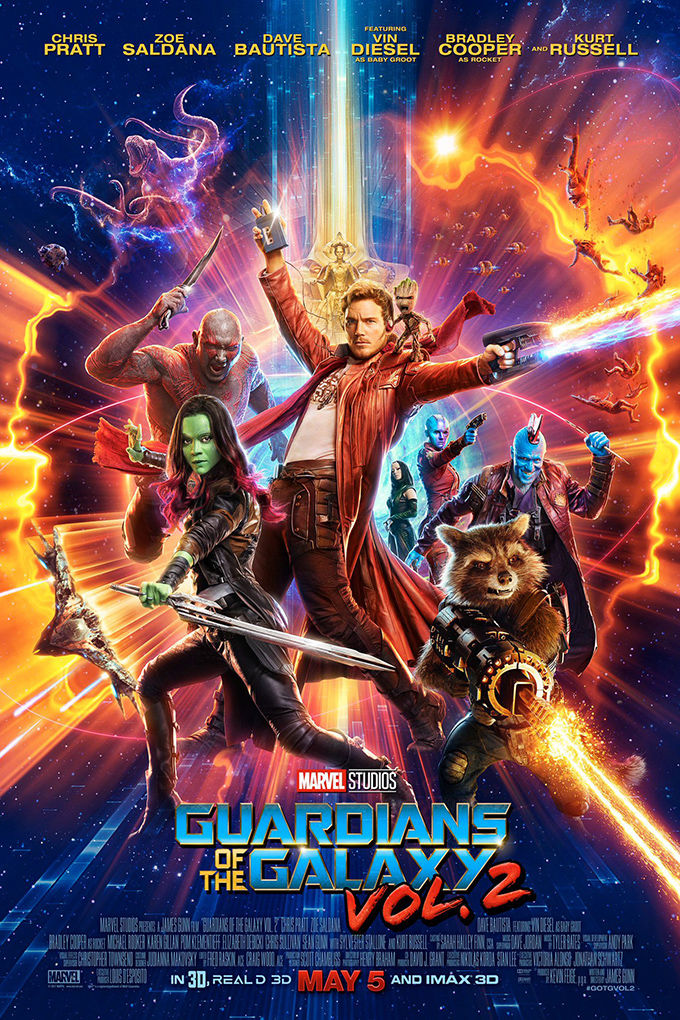 Guardians of the Galaxy 2 [2017 USA, Canada & New Zealand Movie] Action, Adventure, Sci Fi