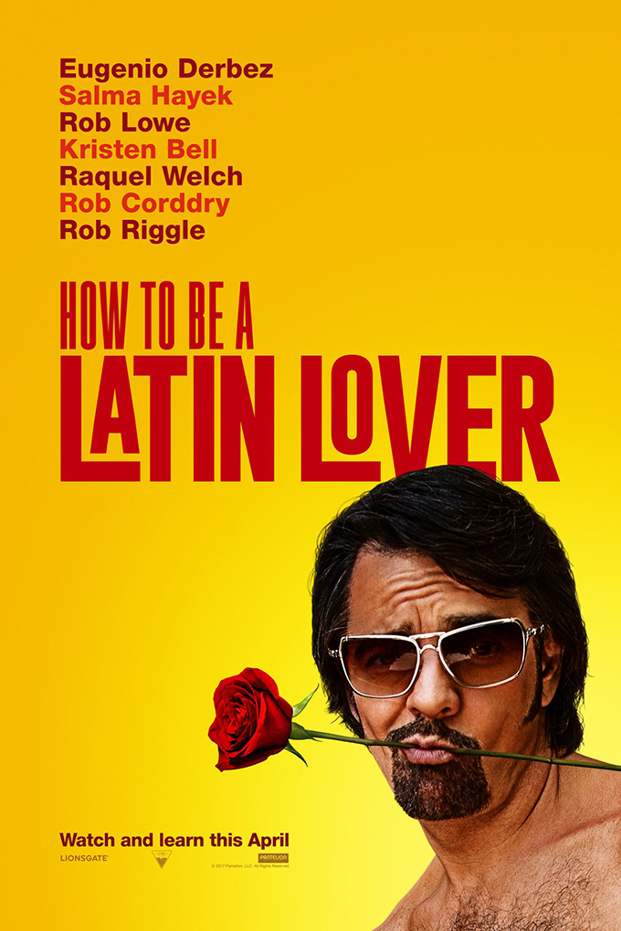How To Be A Latin Lover [2017 USA Movie] Comedy