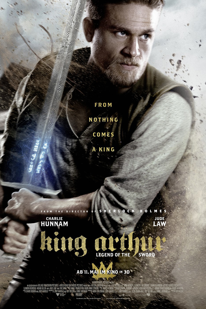 King Arthur: Legend of the Sword [2017 USA Movie] Action, Adventure, Drama