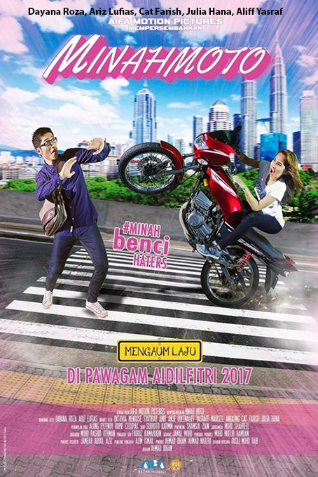 Minahmoto [2017 Malaysia Movie] Action, Comedy