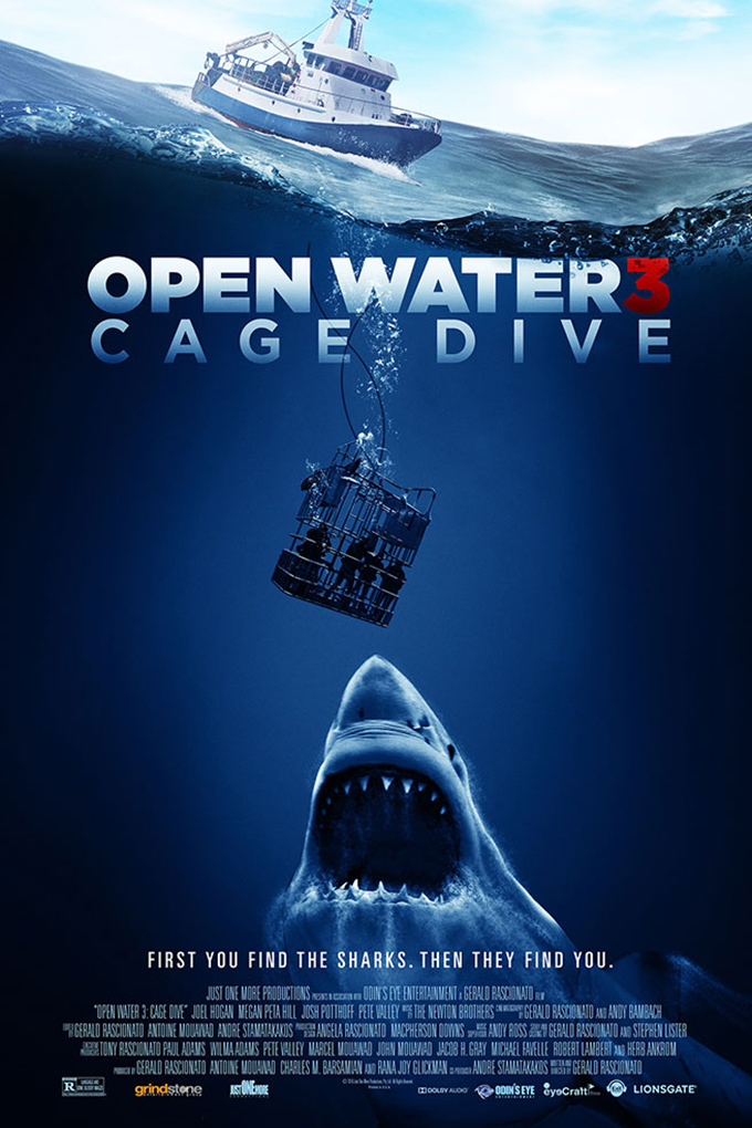 Open Water 3: Cage Dive [2017 Australia Movie] Drama, Horror, Thriller