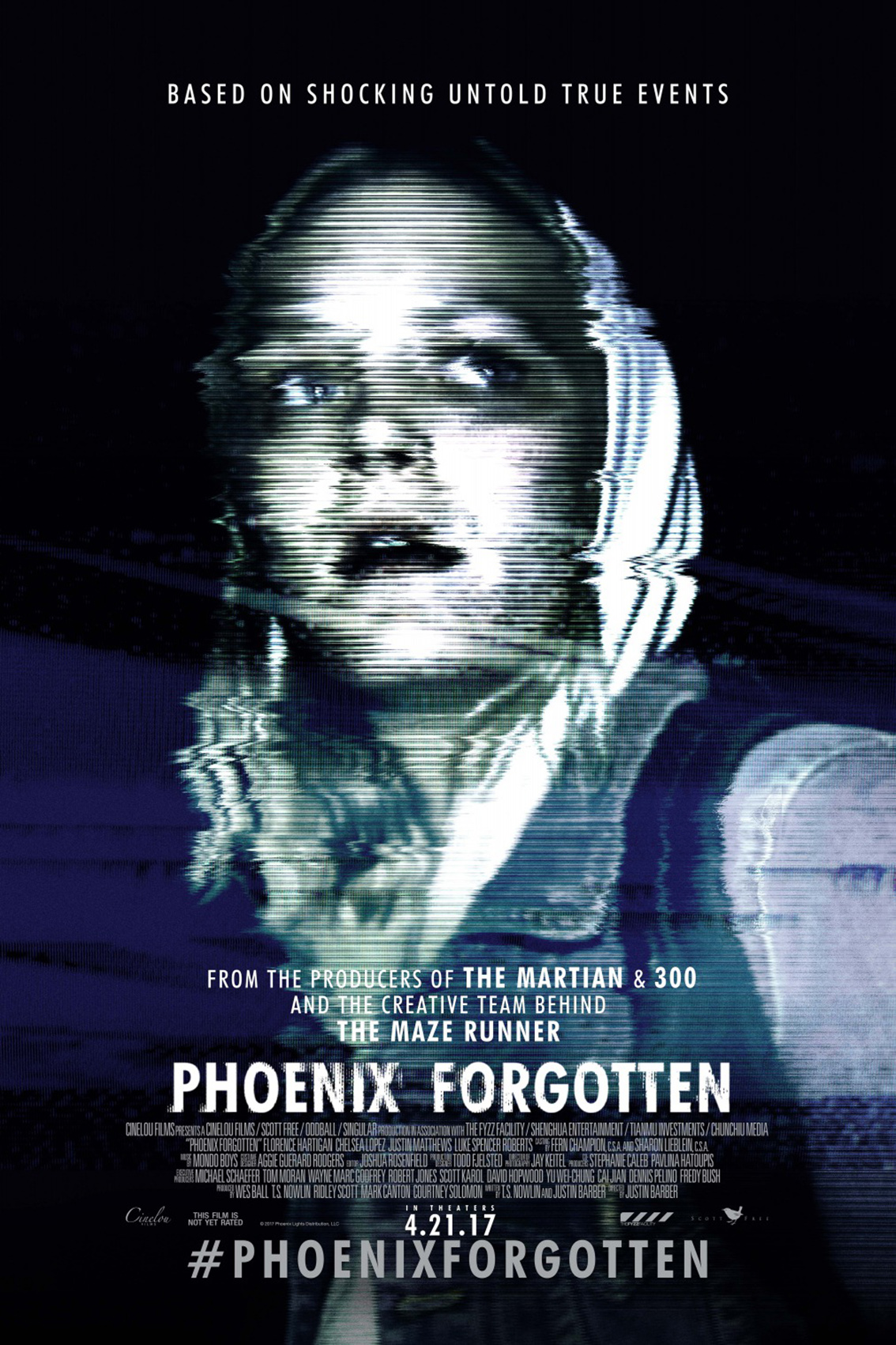 Phoenix Forgotten [2017 USA Movie] Horror, Mystery, Sci Fi