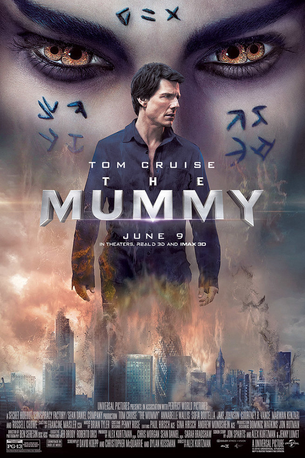 The Mummy [2017 USA Movie] Action, Adventure, Fantasy