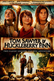 Tom Sawyer & Huckleberry Finn [2014 USA & Germany Movie] Action, Adventure, Drama