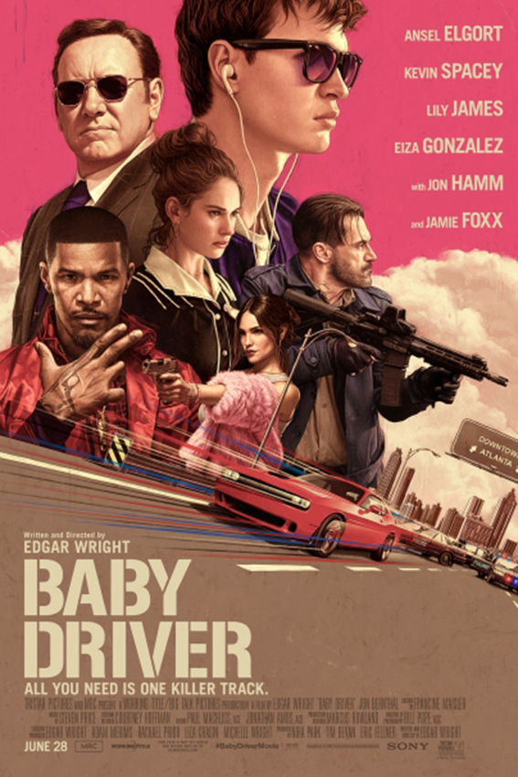 Baby Driver [2017 USA & UK Movie] Action, Crime, Thriller