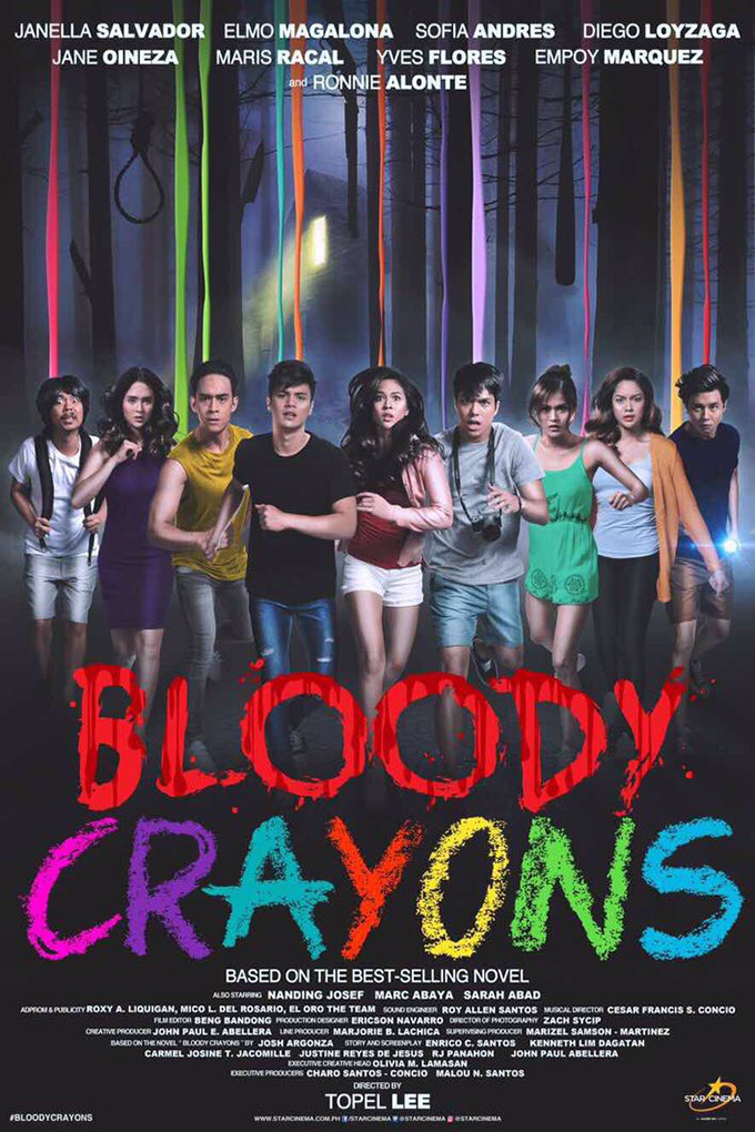 Bloody Crayons [2017 Philippines Movie] Horror, Crime, Mystery