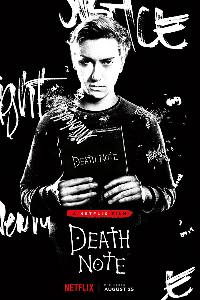 Death Note [2017 USA Movie] Adventure, Crime, Drama