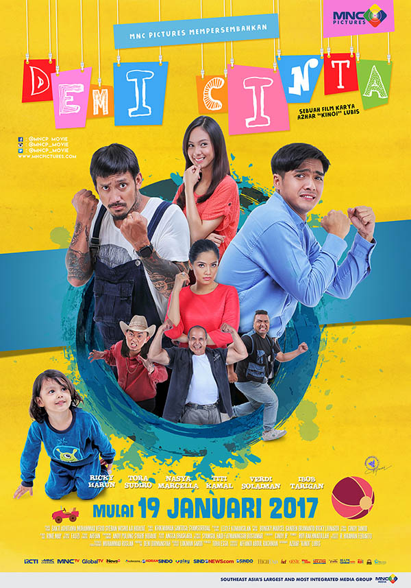 Demi Cinta [2017 Indonesia Movie] Comedy