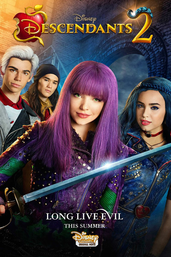 Descendants 2 [2017 USA Movie] Action, Adventure, Family