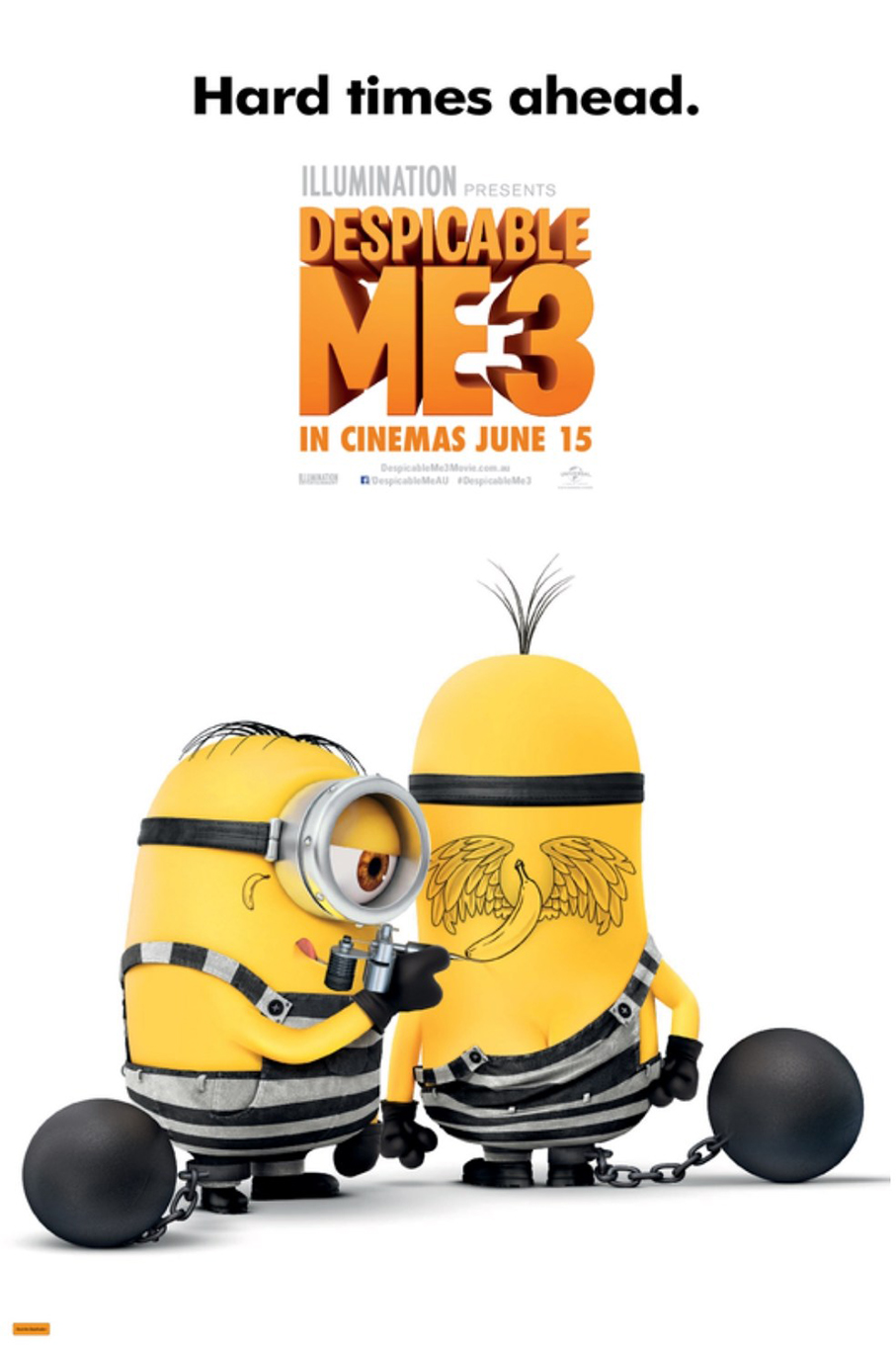 Despicable Me 3 [2017 USA Movie]  Animation, Family