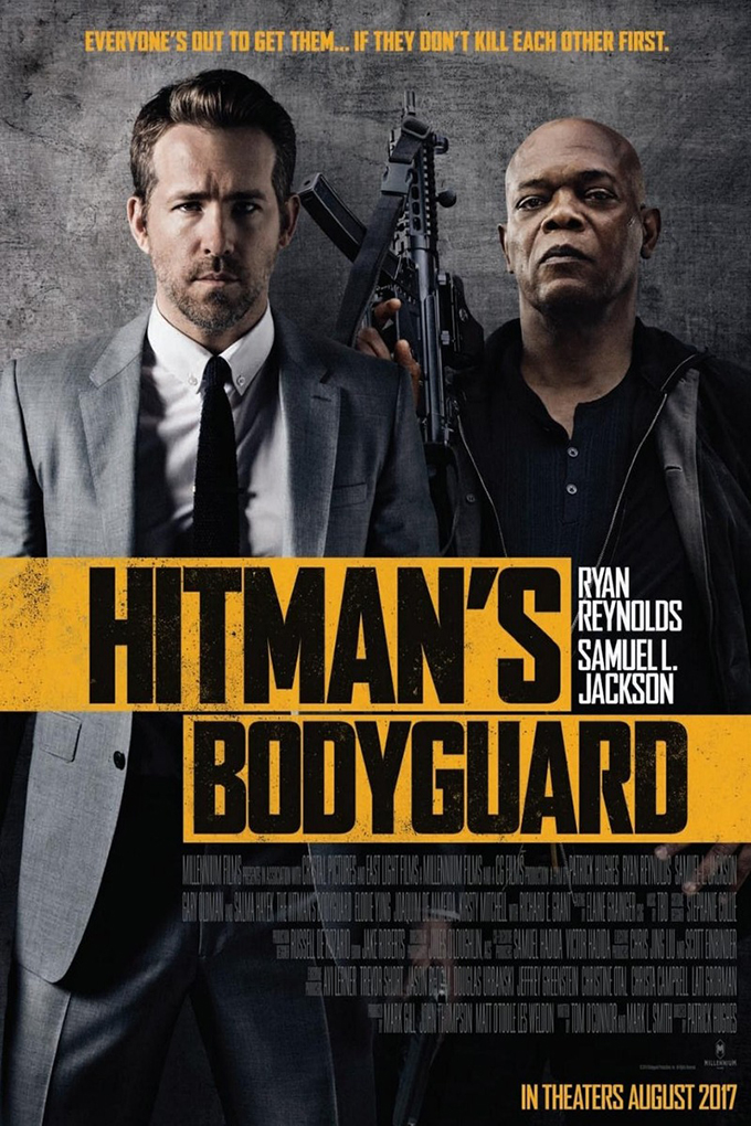 The Hitman's Bodyguard  [2017 USA, China, Bulgaria, Netherlands Movie]  Action, Comedy
