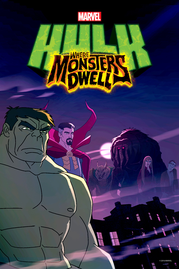 Hulk: Where Monsters Dwell [2016 USA Movie] Animation