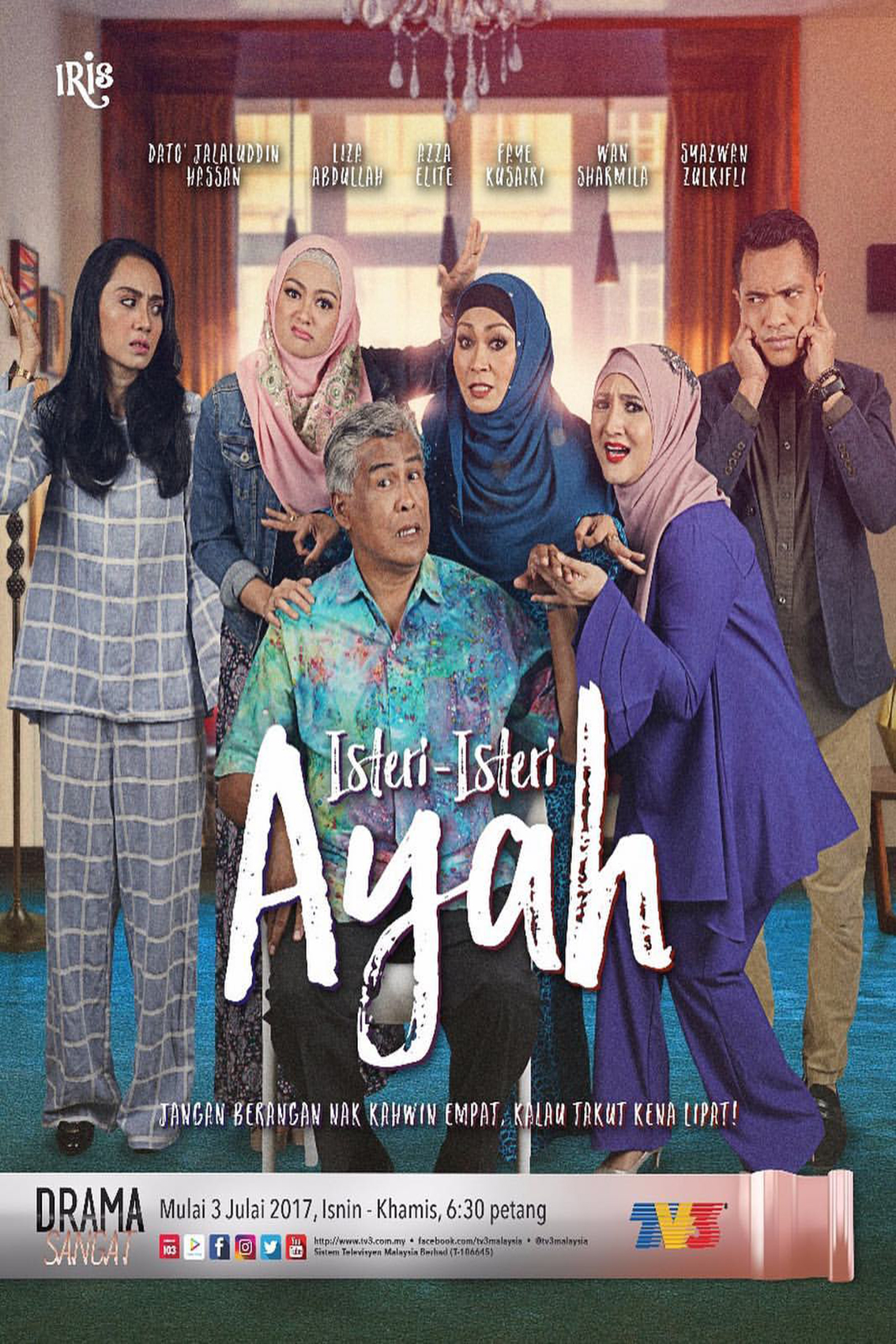 Isteri Isteri Ayah [2017 Malaysia Series] 20 eps END (2)