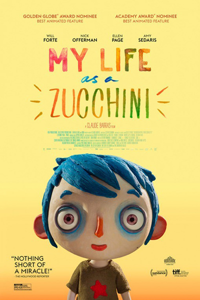 My Life as a Zucchini [2016 Switzerland & France Movie] Animation, Family