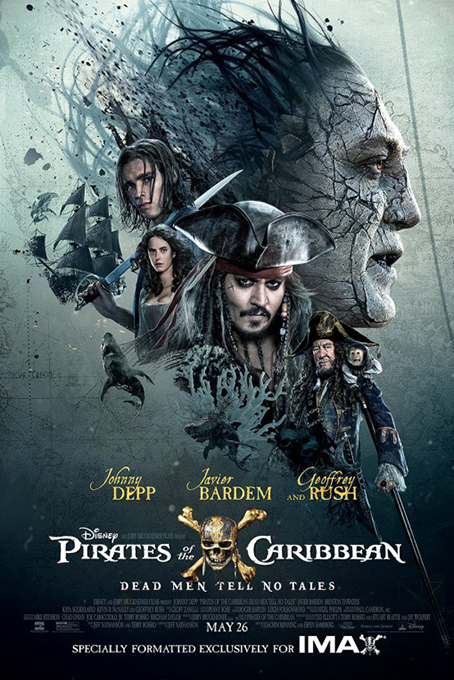 Pirates of the Caribbean 5 Dead Men Tell No Tales [2017 USA Movie] Action, Adventure, Fantasy