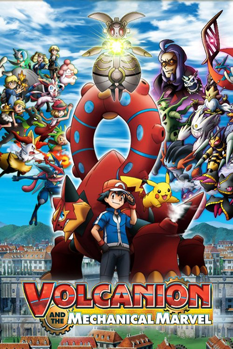 Pokemon the Movie: Volcanion and the Mechanical Marvel [2016 Japan Movie]  Animation