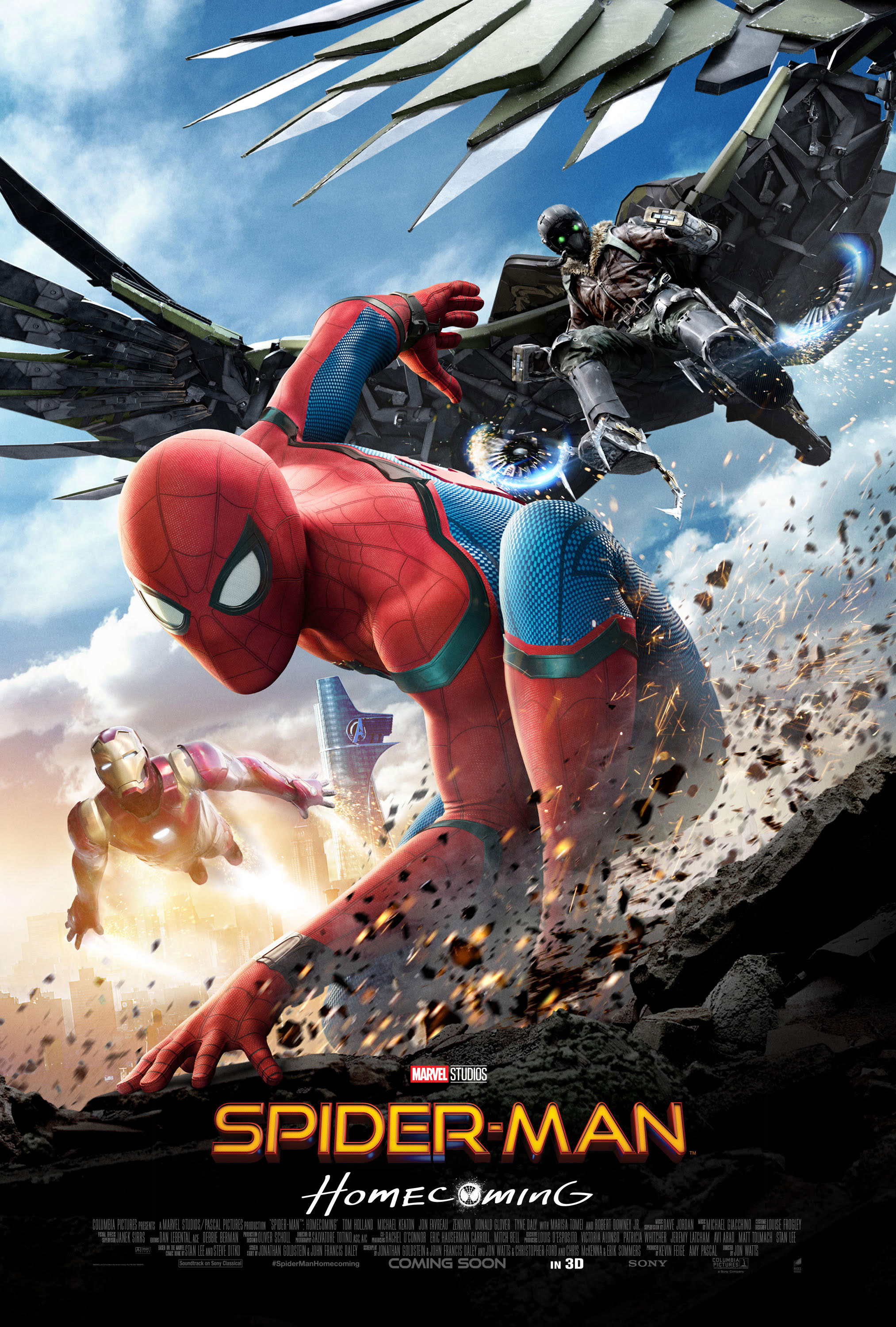 Spiderman Homecoming [2017 USA Movie] Action, Adventure, Sci Fi